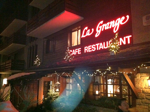 Restaurante La Grange - Verbier