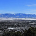 Cedar City from Three Peaks, January 2013 by Bob Palin