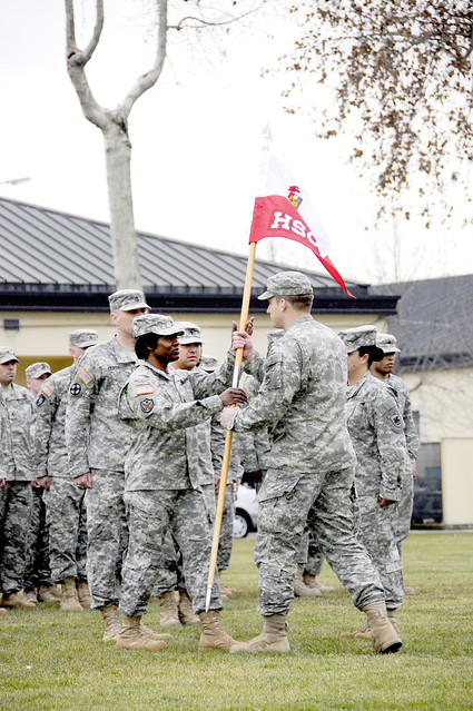 Army Africa's Headquarters Support Company has new top sergeant ...