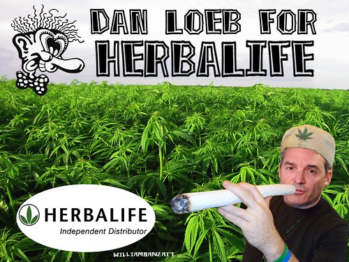 DAN LOEB FOR HERBALIFE by Colonel Flick/WilliamBanzai7