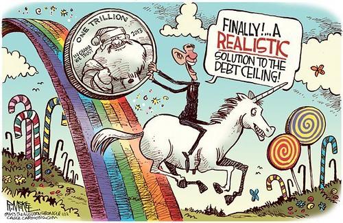 The trillion dollar platinum coin - the culmination of the Keynesian fraud on humanity