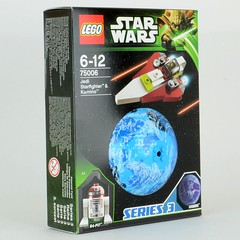 75006 Jedi Starfighter and Kamino