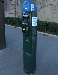 Paris December 2012: Parking Meters!