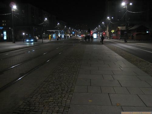 Улица в центре Дрездена