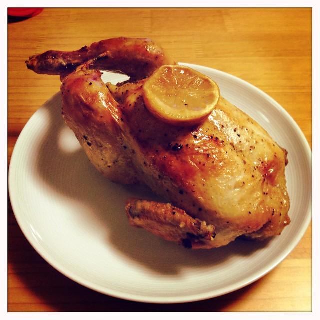 레몬 닭 구이