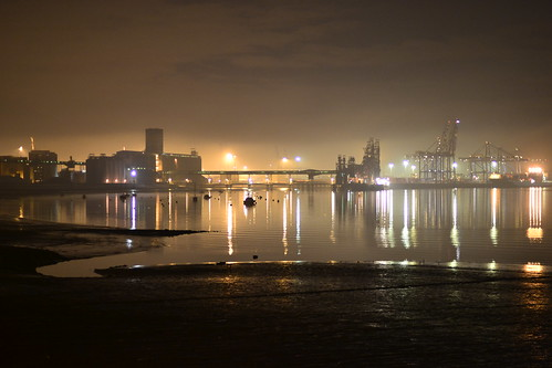 Port of Tilbury.