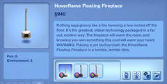 Hoverflame Floating Fireplace