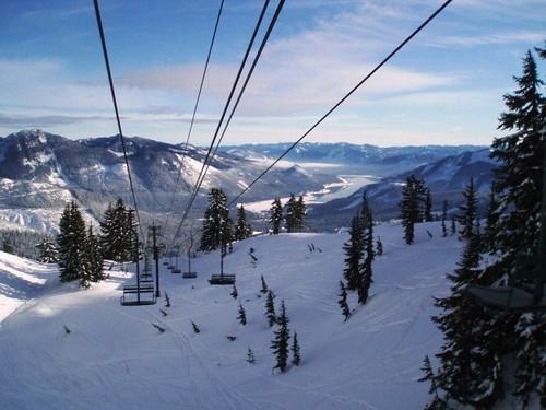 Scenic Ski Lift