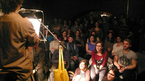 Concerto Crystal mit textstrom Poetry Slam Wien Publikum