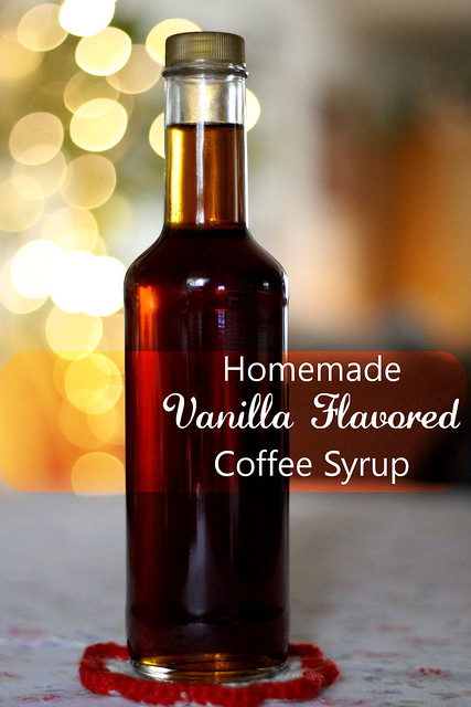 Vanilla Flavored Coffee Syrup
