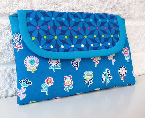 All blue tablet case