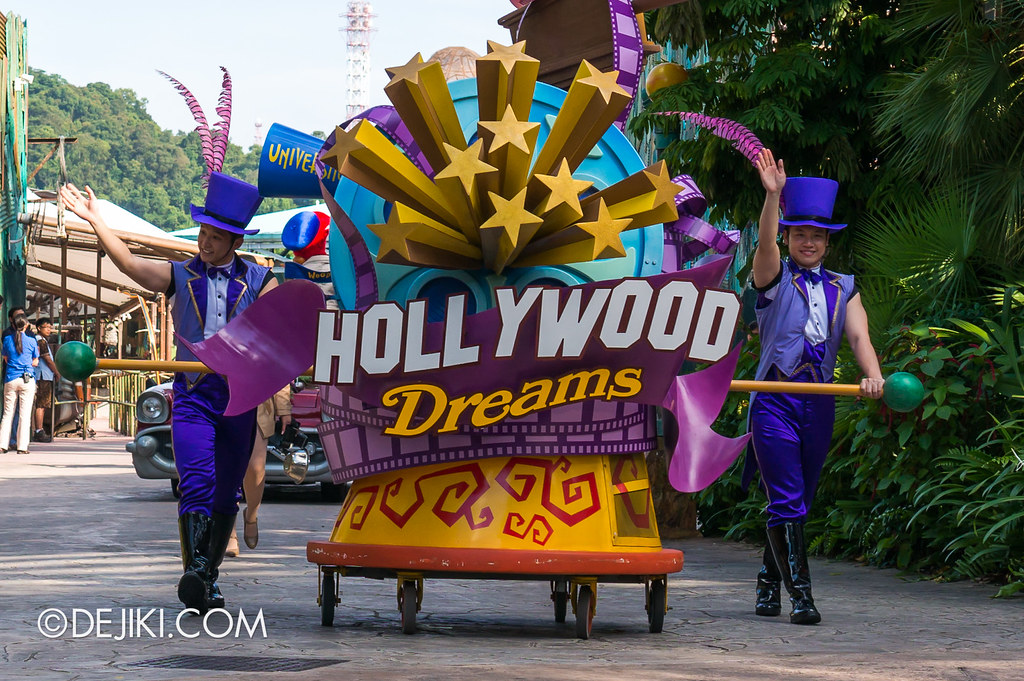 Hollywood Dreams Parade - Rolling Marquee 2
