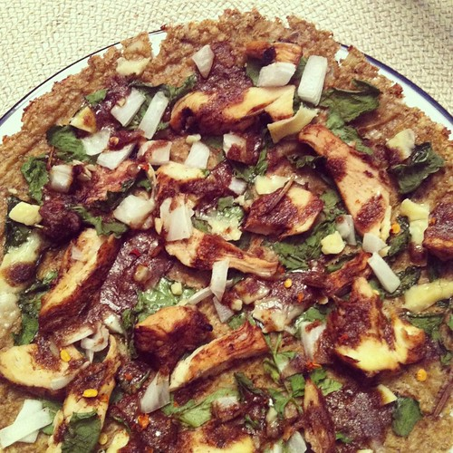 Cauliflower Crust Pizza - no cheese