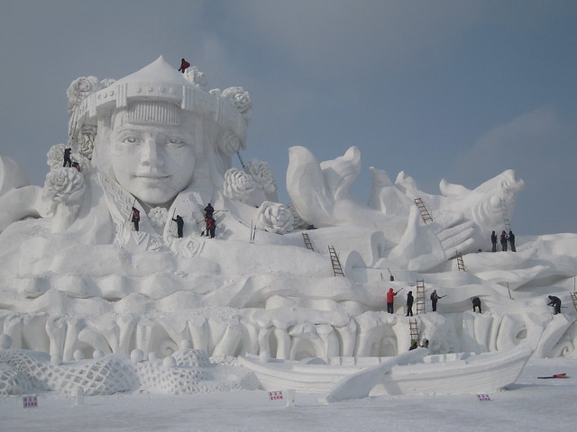 2013-01-24_21-40-54 Harbin Snow Sculpture Park at Sun Island