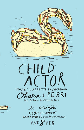 CHILD ACTOR poster by Ohara.Hale