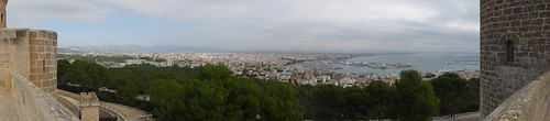 Panorama from Castell de Bellver