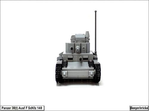 Panzer 38(t) SdKfz 140 Ausf F de Panzerbricks