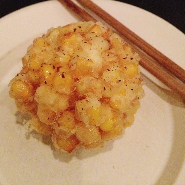 Recovery day. Thinking of this yummy tempura corn ball from #yardbirdhk #hongkong