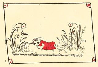 Klaras Poesiealbum 1920 Zeichnung
