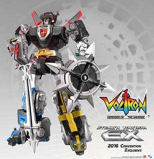 TOYNAMI – 五獅合體《聖戰士 Voltron EX》「SDCC限定版本」!