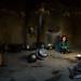 Afghan girl inside a traditional pamiri kitchen, Badakhshan province, Khandood, Afghanistan by Eric Lafforgue