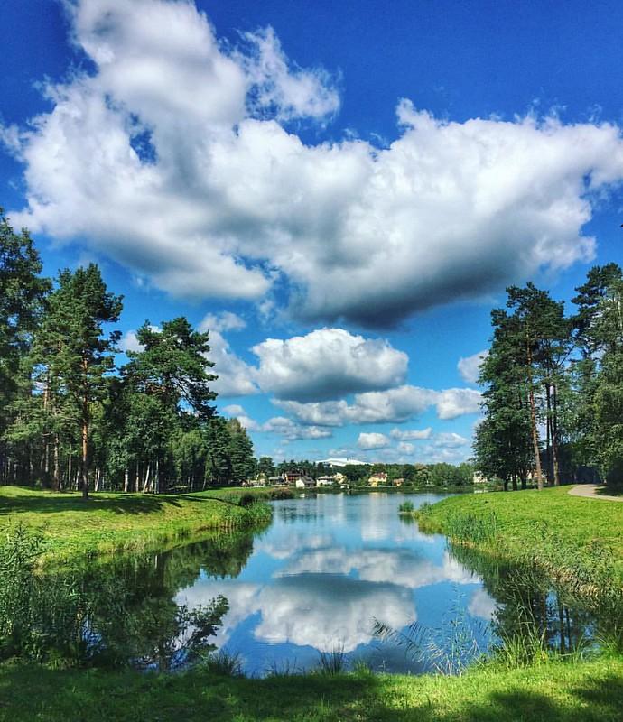 Amazing sky of Druskinikai