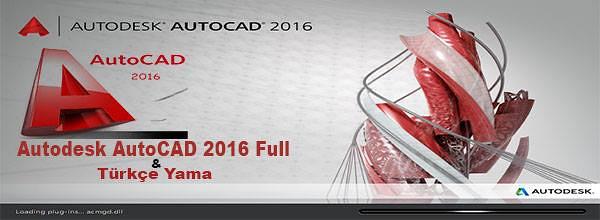 Autodesk AutoCAD 2016 Full indir