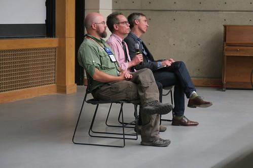 Panel: Jeremiah OsborneGowey, Bruce Milne, JoshTewksbury, Tuesday plenary