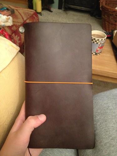 New Midori Traveler's Notebook