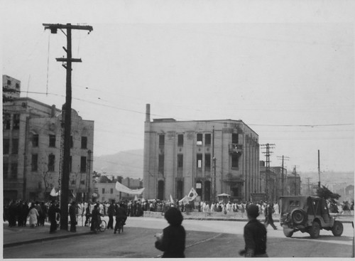 unification parade,april 26,1953