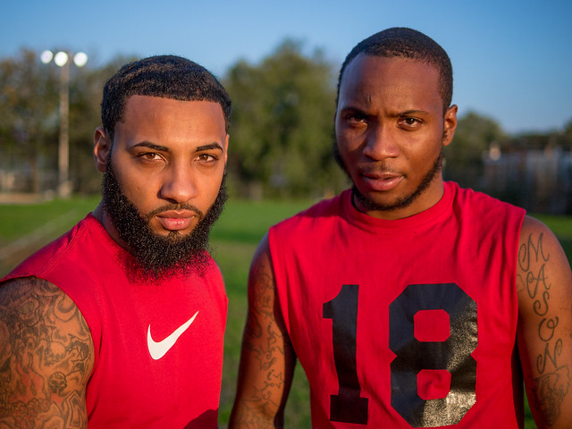 "Kensington Flag Football: Two ""Wolves"""