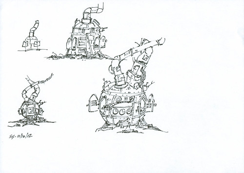 Toy Factory Furnace - Video Game Concept Art