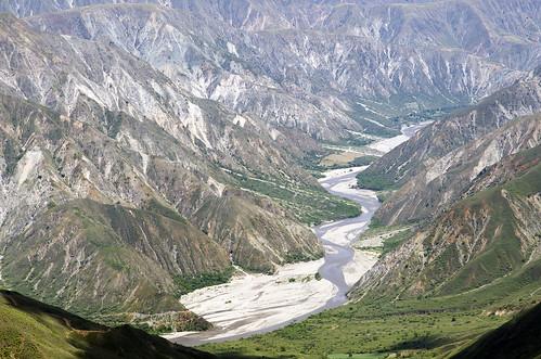 rio de colombia canyon provincia paesaggi santander cañon chicamocha