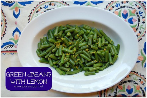 greenbeanswithlemon