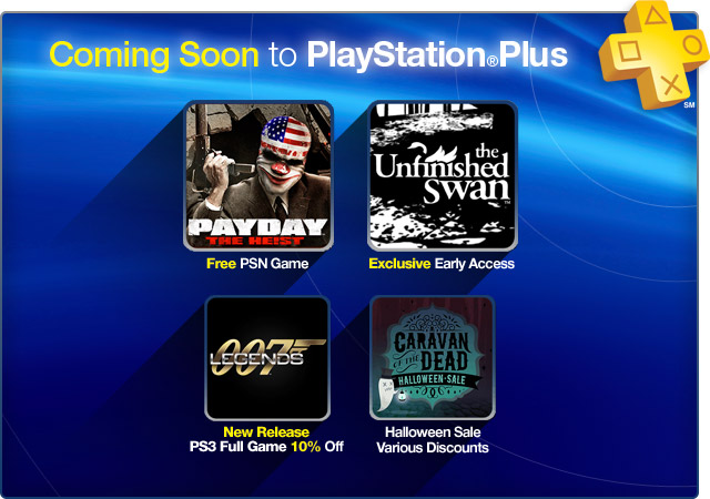 PlayStation Plus Update 10-15-2012