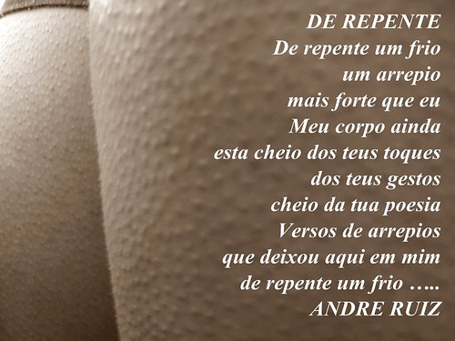 De repente by amigos do poeta