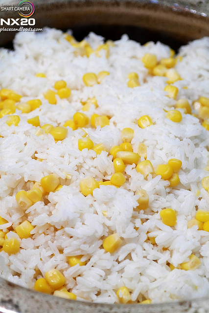 ritz carlton rice with corn