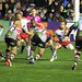 Small photo of Rob Buchanan barrels over for the try