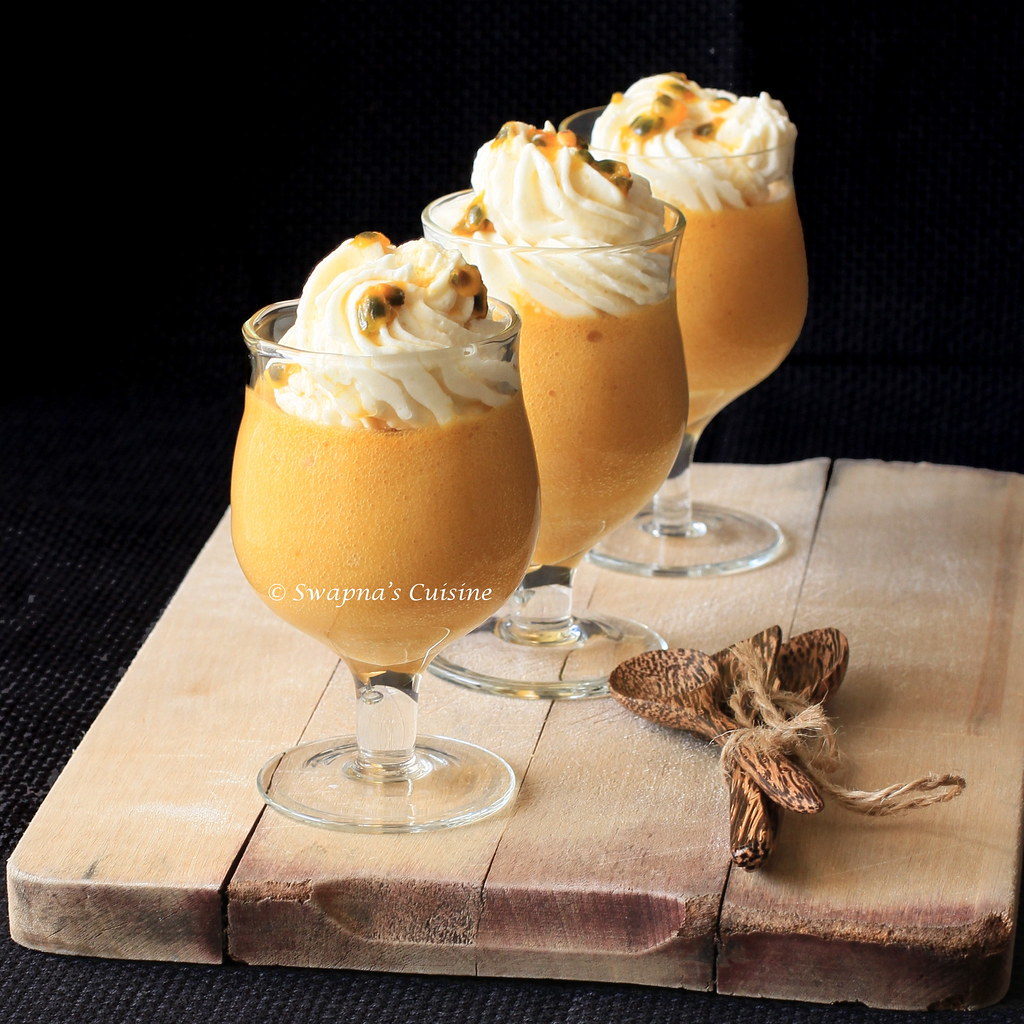 Mango & Passion Fruit Mousse Recipe
