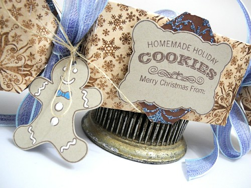 Homemade cookies treat box (detail)