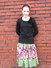 Destini's Corduroy Skirt 1