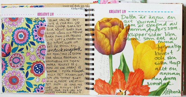 Smart Journal #1 Yellow tulips
