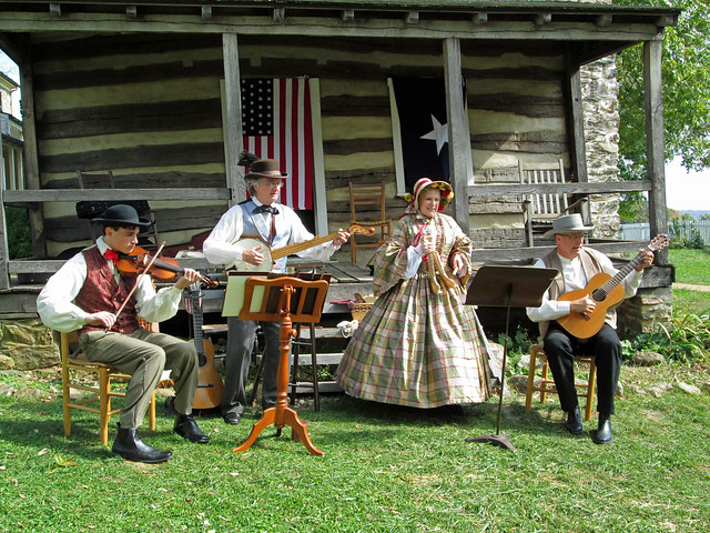 Old Timey Fun at Sky Meadows State Park Fall Farm Festival