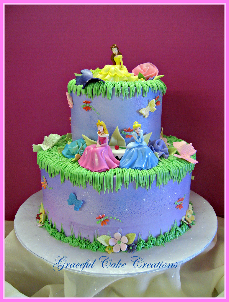 Birthday Cake Images Disney : Disney Princess Birthday Cake - a photo on Flickriver