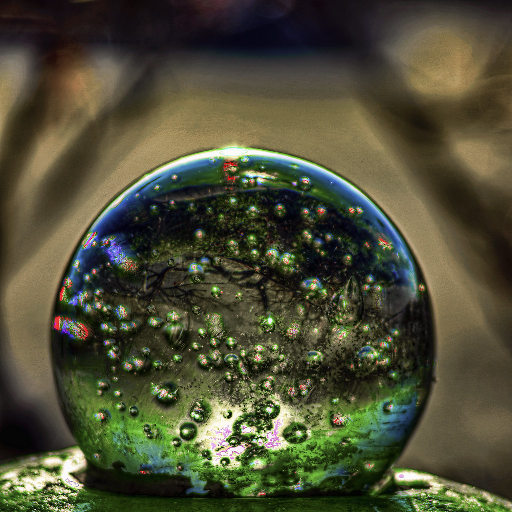 Glass orb HDR2