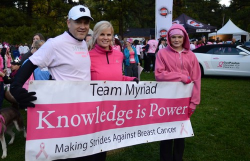 Team Myriad at Making Strides event