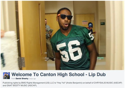 Welcome To Canton High School - Lip Dub on Vimeo by stevegarfield