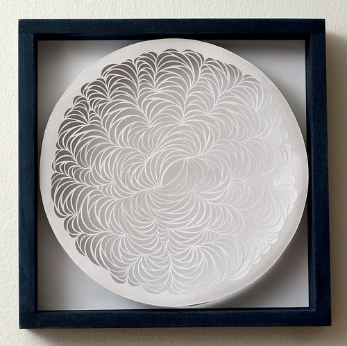 Paper Cut Design: Ripple Effect