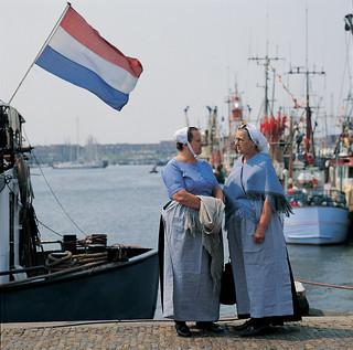 Puerto de Scheveningen.