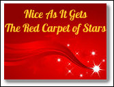 Nice as It Gets red carpet of stars